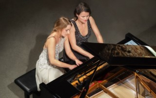 Klavierduo Anna Buchberger und Henriette Zahn